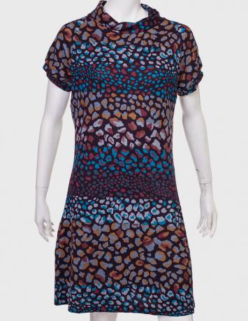Купить яркое летнее платье с необычным принтом от PALME
