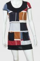 Яркое молодежное платье-туника от Le Grahier