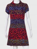 Яркое женское платье с леопардовым принтом от Palme