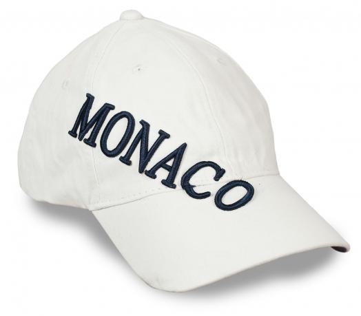Летняя унисекс бейсболка MONACO