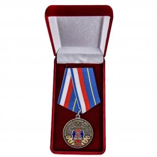 Юбилейная медаль 100 лет Финансовой службе МВД России - в футляре