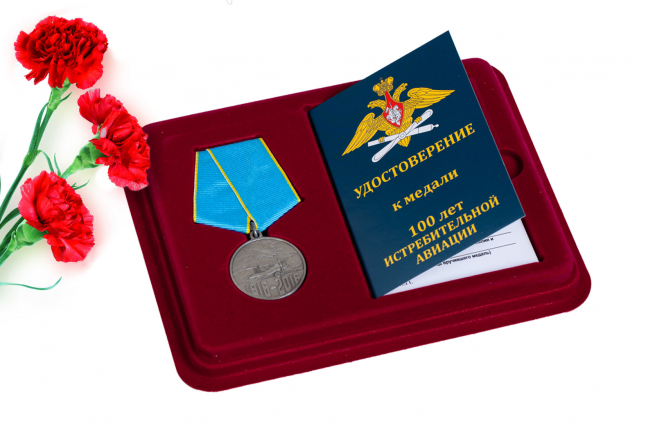 Юбилейная медаль 100 лет Истребительной авиации