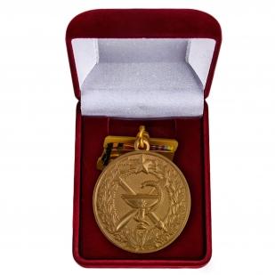 Юбилейная медаль 100 лет медицинской службы ВКС - в футляре