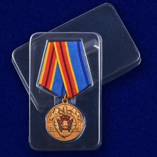 """Юбилейная медаль """"100 лет Московскому Уголовному розыску"""" с доставкой"""