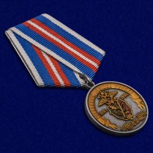 Юбилейная медаль 100 лет Уголовному розыску России 1918-2018 - общий вид