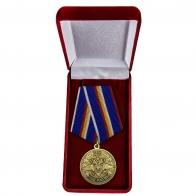 Юбилейная медаль 215 лет МВД России - в футляре