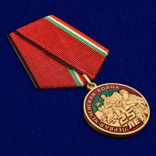 Юбилейная медаль 25 лет Первой Чеченской войны - общий вид
