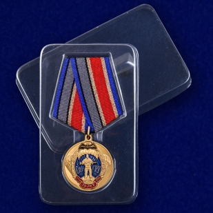 Медаль 70 лет СпН ГРУ - в пластиковом футляре