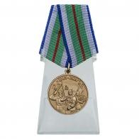 Юбилейная медаль 75 лет Победы в Великой Отечественной войне 1941-1945 годов Беларусь на подставке
