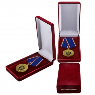 Юбилейная медаль ФСБ в футляре