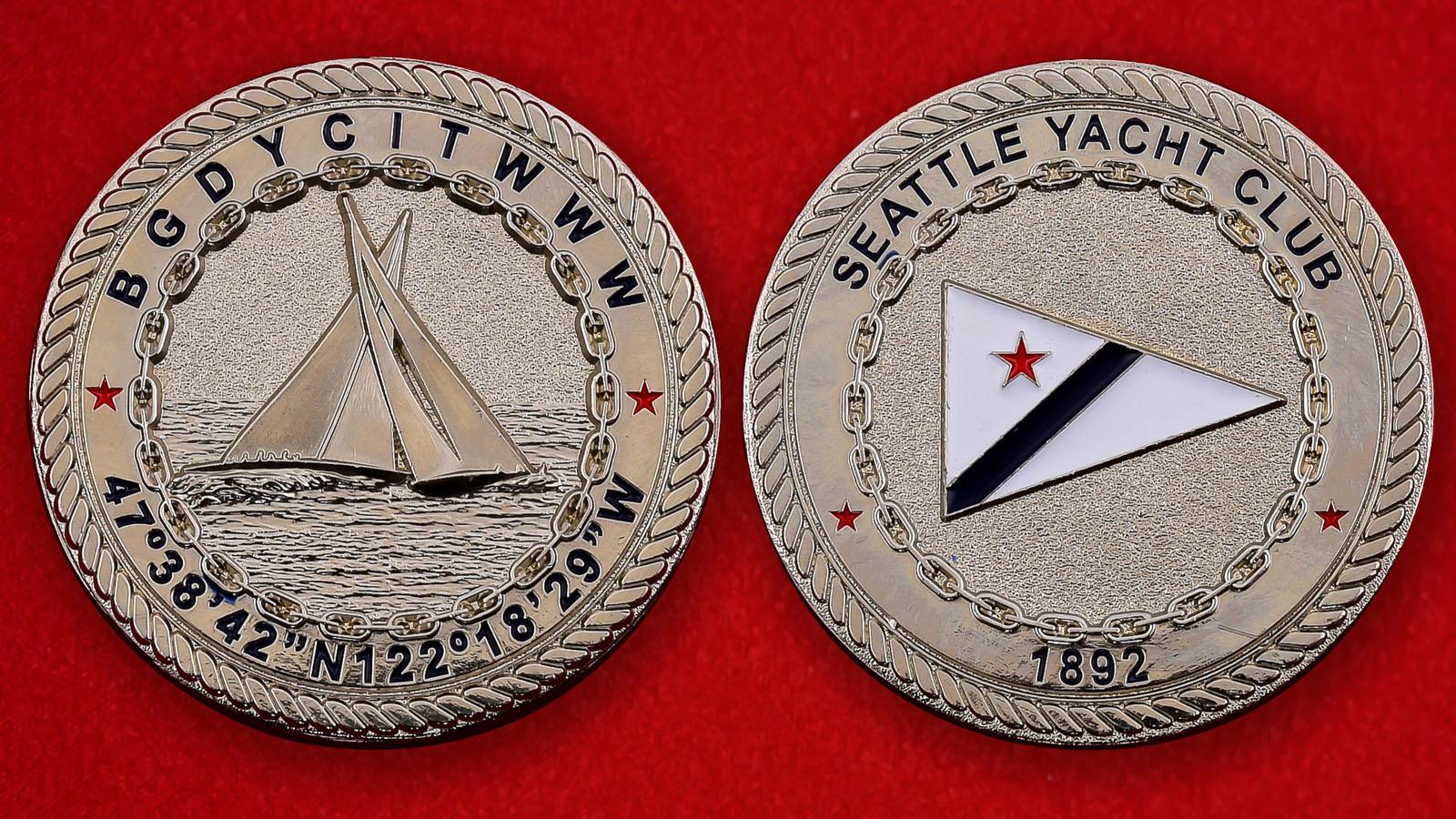 Юбилейная монета к 120-летию Яхт-клуба в Сиэтле