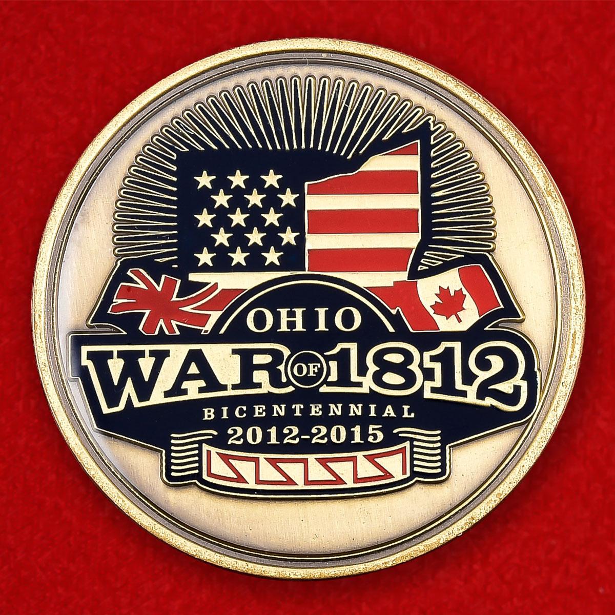 """Юбилейная монета США к 200-летию Второй войны за независимость """"Битва у озера Эри"""""""