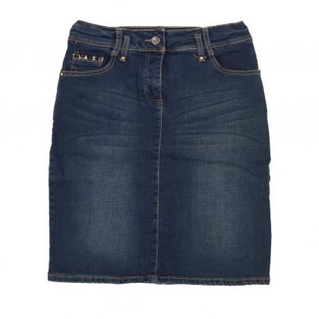 Джинсовая юбка-карандаш Jacqueline Riu.