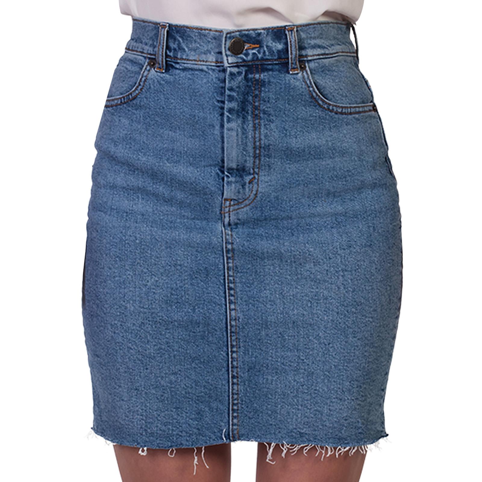 Джинсовая юбка Los Angeles Atelier