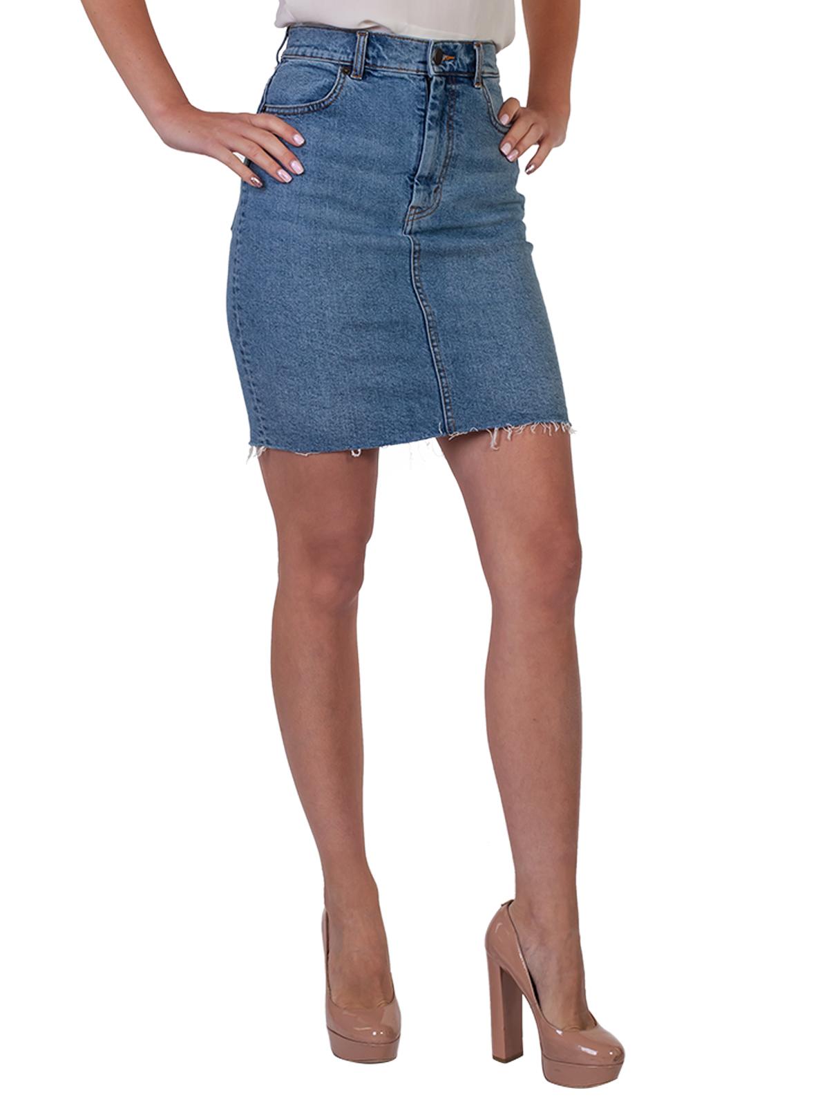 Купить в интернет магазине джинсовую юбку Los Angeles Atelier