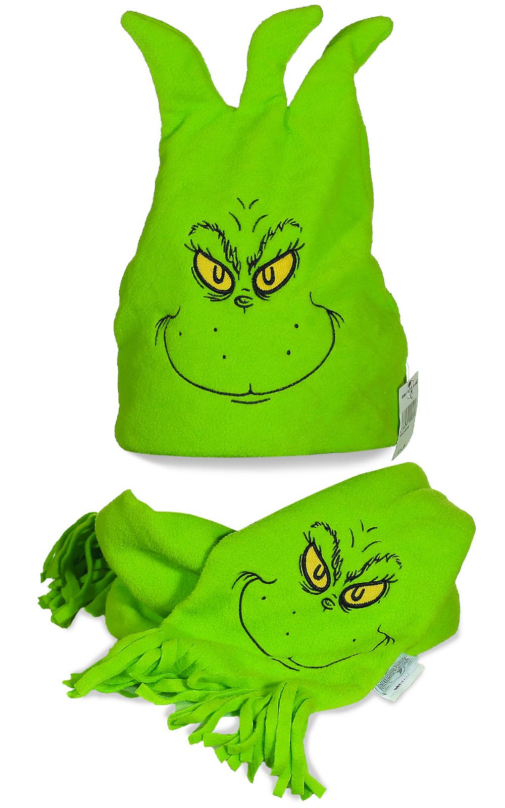 Забавная шапка Гринча для весельчаков и ценителей хорошего юмора