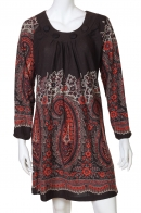 Зачаровывающее платье-туника от Rana