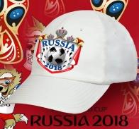 Зачетная бейсболка Russia 2018 с короной.