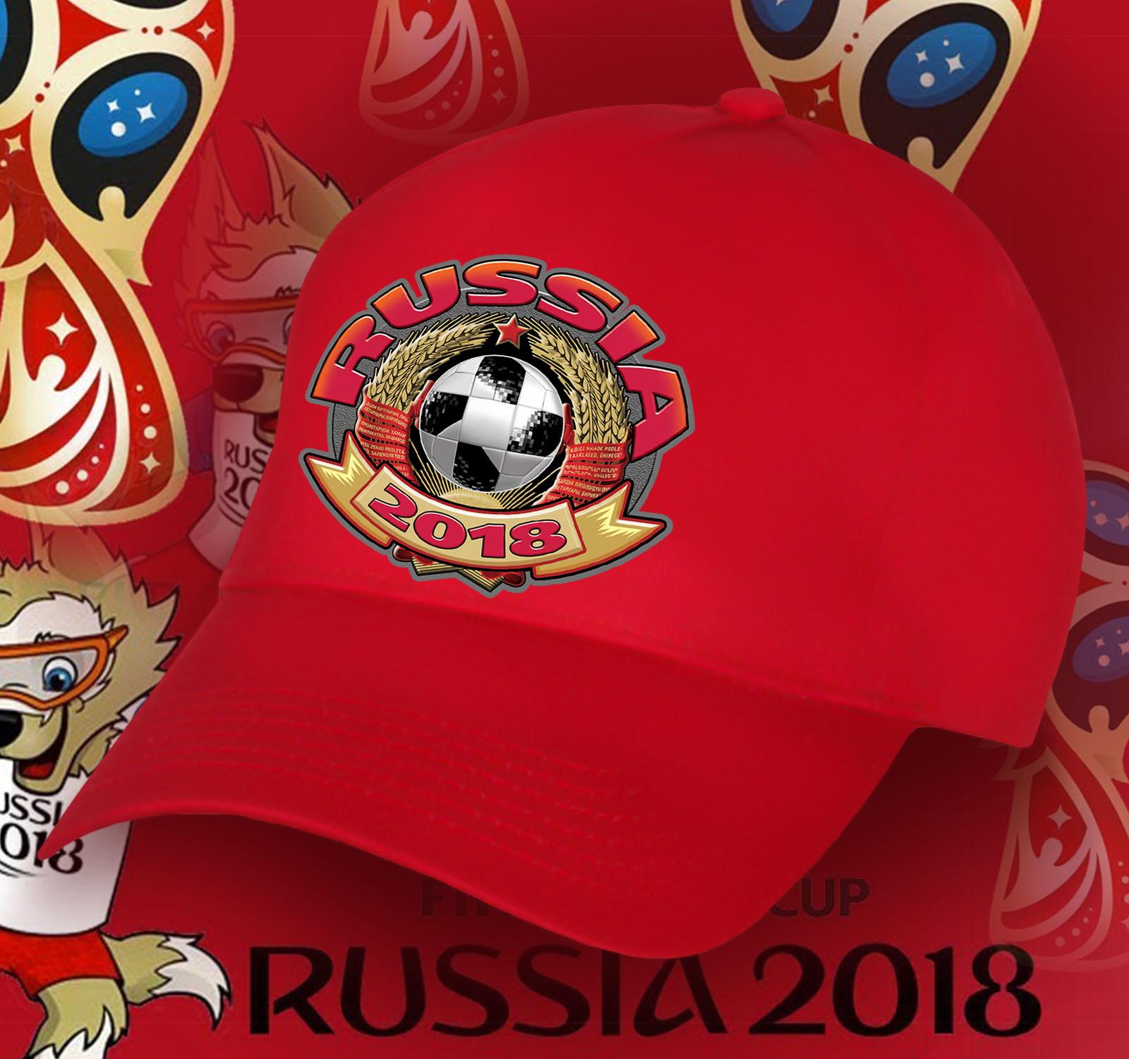Зачетная бейсболка Russia