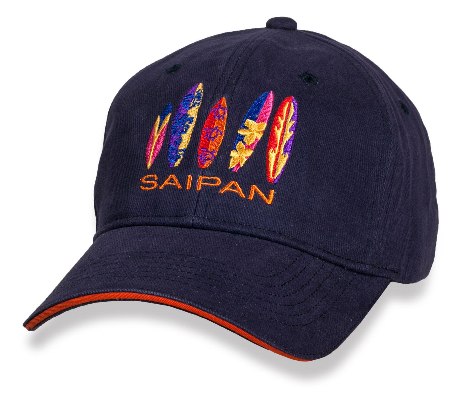 Зачетная бейсболка Saipan.