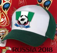 Зачетная двухцветная бейсболка сборной Нигерии
