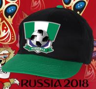 Зачетная двухцветная кепка сборной Нигерии