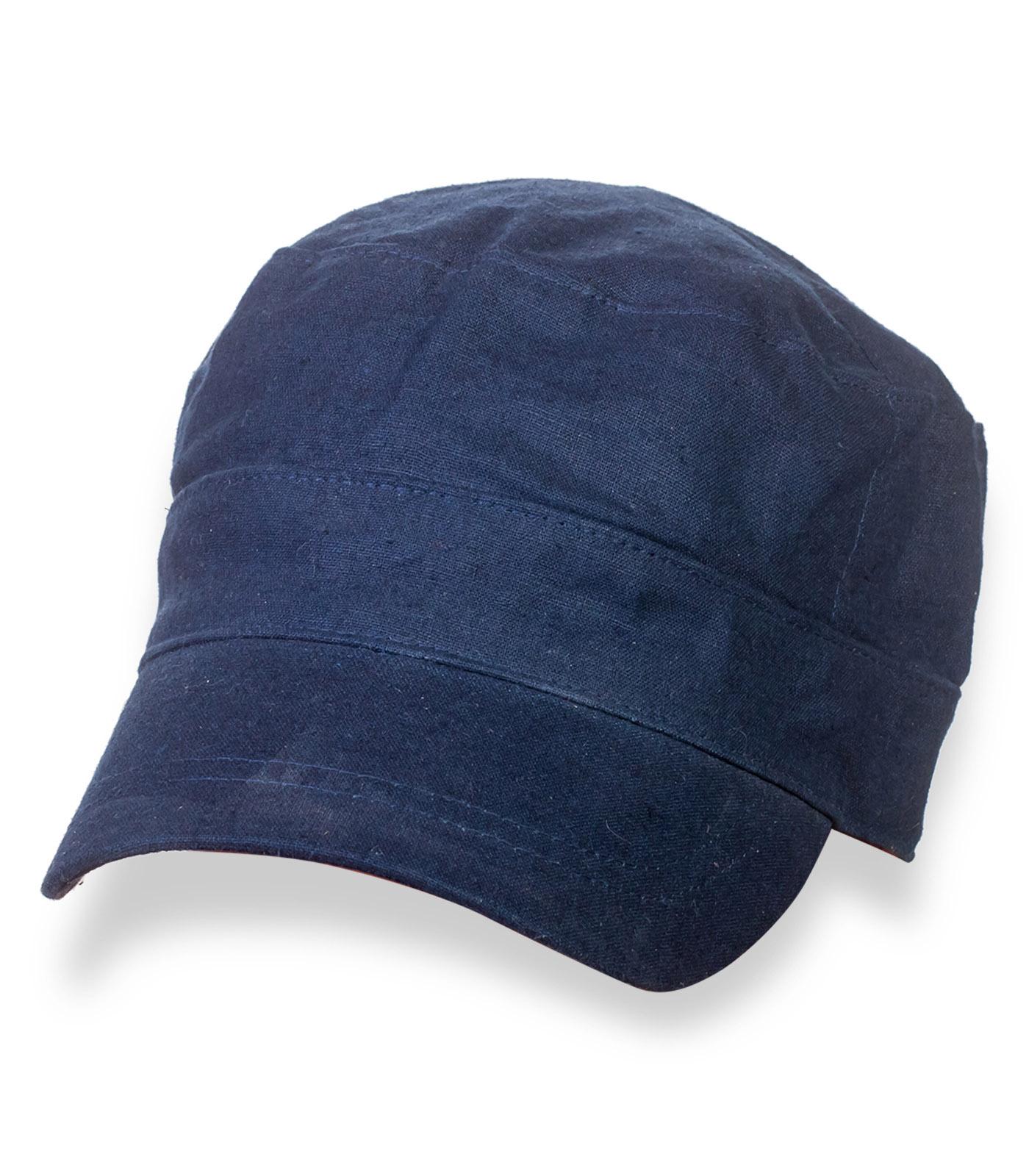 Зачетная джинсовая кепка-немка