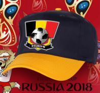 Зачетная фанатская кепка сборной Бельгии