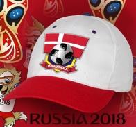 Зачетная футбольная кепка Danmark