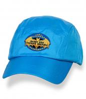 Зачетная голубая бейсболка с термотрансфером Военная Разведка