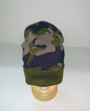 Зачетная камуфляжная шапка