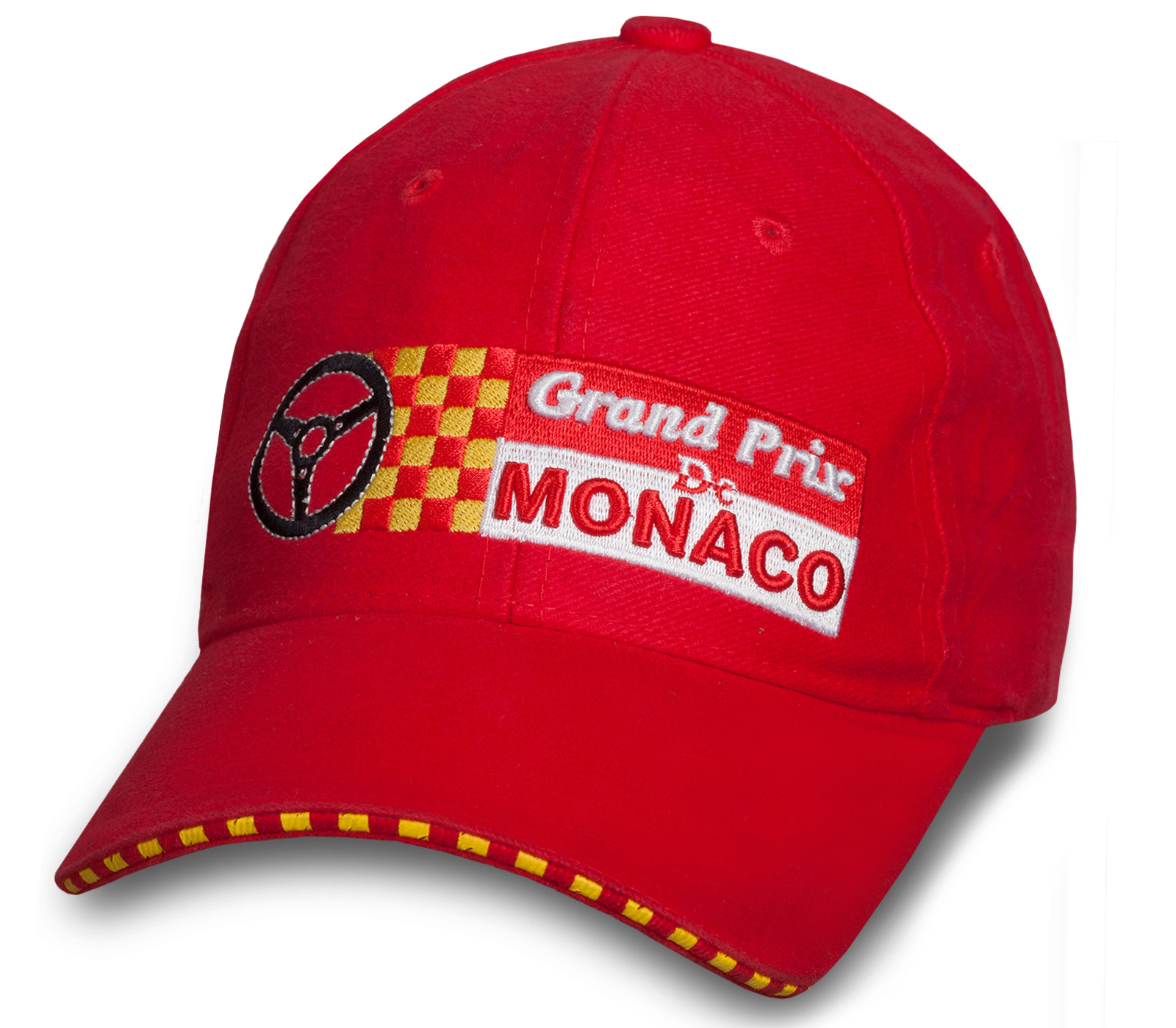 Зачетная красная бейсболка Monaco Grand Prix