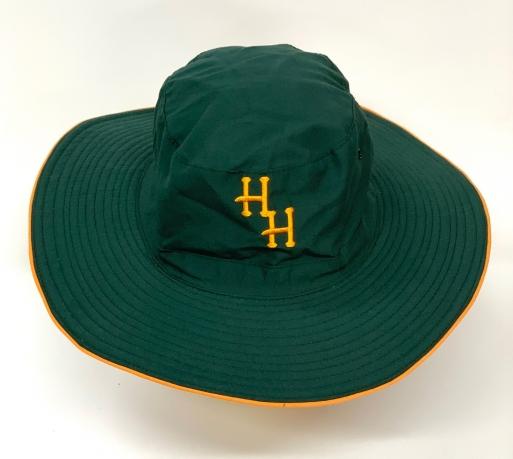 Зачетная летняя панама HH с желтой вышивкой