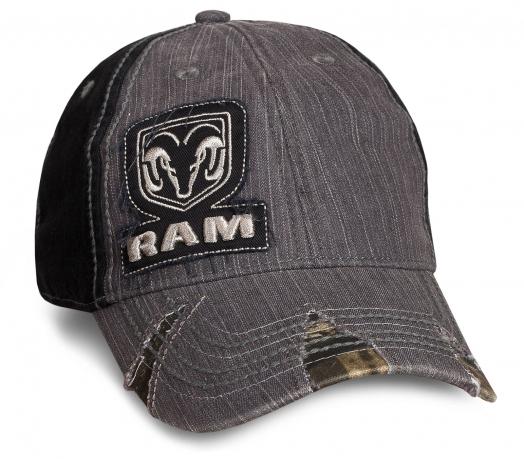Зачетная мужская бейсболка RAM
