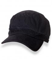 Зачетная мужская кепка-немка в черном цвете