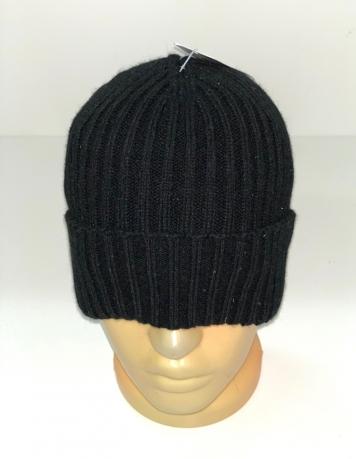 Зачетная шапка черного цвета
