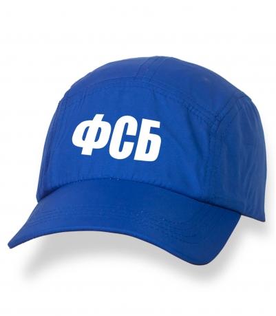 Зачетная синяя бейсболка с термонаклейкой ФСБ