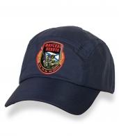 Зачетная темно-синяя бейсболка с термонаклейкой Морская Пехота