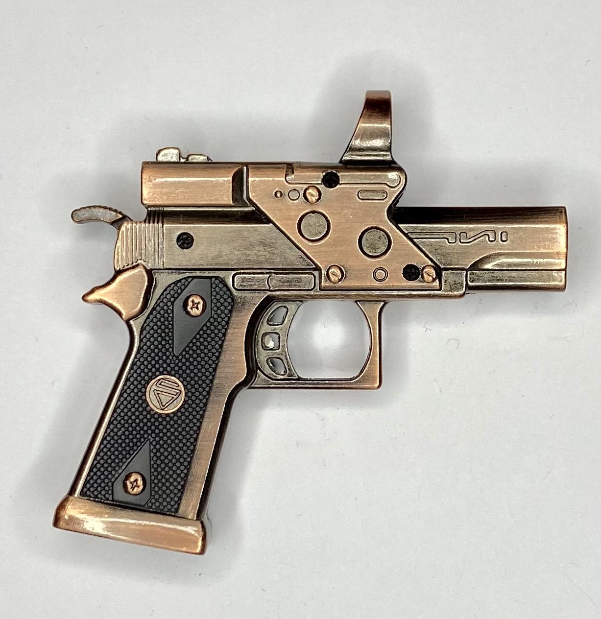 Зачетная зажигалка-пистолет