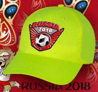 Зачетная кепка Russia 2018.
