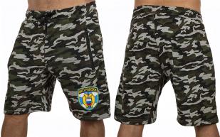 Зачетные камуфляжные шорты с нашивкой ФСО - купить оптом