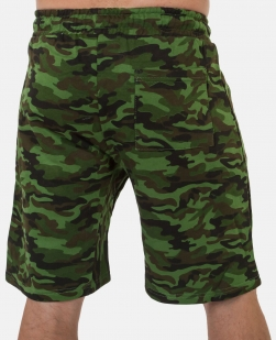 Зачетные камуфляжные шорты с нашивкой ВКС - купить в розницу