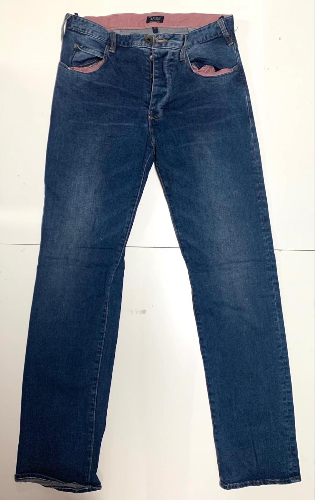Зачетные мужские джинсы темные