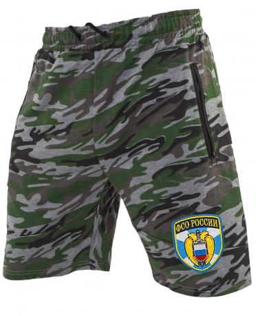 Зачетные мужские шорты нашивкой ФСО