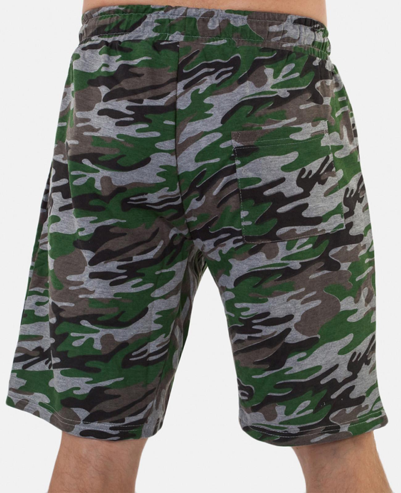 Зачетные мужские шорты нашивкой ФСО - заказать по низкой цене