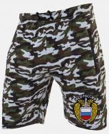 Купить зачетные мужские шорты с шевроном ФСО