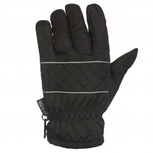Зачетные темно-серые перчатки
