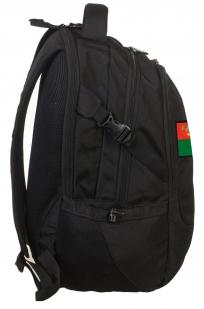 Зачетный черный рюкзак с нашивкой Погранвойска - купить с доставкой