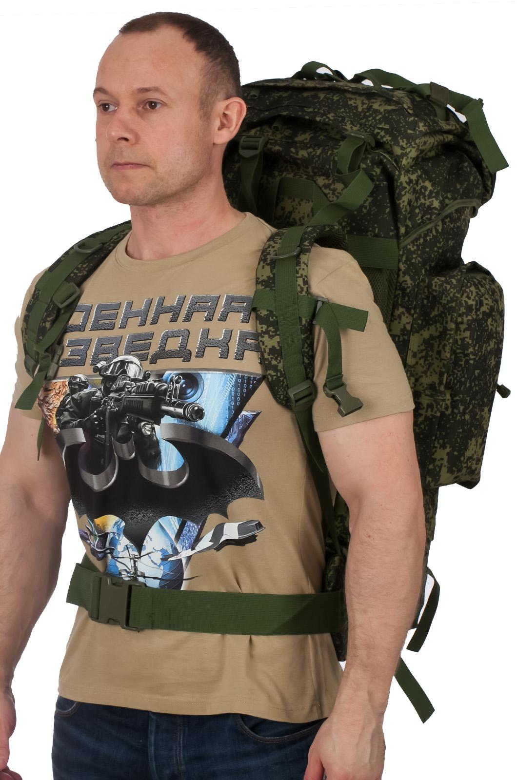 Зачетный многодневный рюкзак с нашивкой Потомственный Казак - заказать в подарок