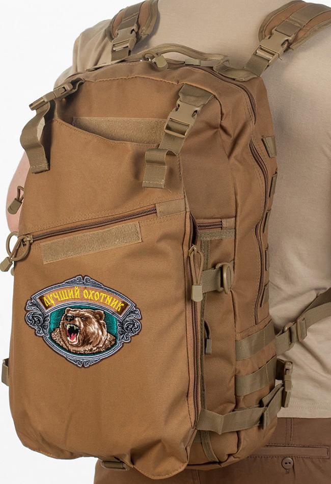 Зачетный рейдовый рюкзак с нашивкой Лучший Охотник